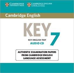 Dernières parutions sur Cambridge English Key and Key for Schools, Cambridge English Key 7 - Audio CD Authentic Examination Papers from Cambridge English Language Assessment