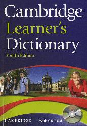 Dernières parutions sur Dictionaries, Cambridge Learner's Dictionary : Paperback with CD-ROM