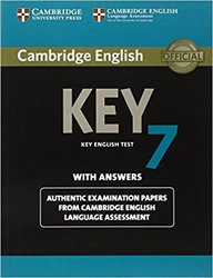 Dernières parutions sur Cambridge English Key and Key for Schools, Cambridge English Key 7 - Student's Book with Answers Authentic Examination Papers from Cambridge English Language Assessment