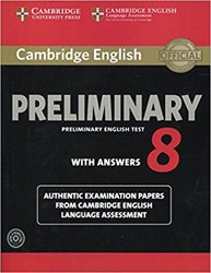 Dernières parutions sur PET, Cambridge English Preliminary 8 - Student's Book Pack (Student's Book with Answers and Audio CDs (2)) Authentic Examination Papers from Cambridge English Language Assessment