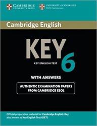 Dernières parutions sur Cambridge English Key and Key for Schools, Cambridge English Key 6 - Student's Book with Answers
