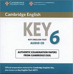 Dernières parutions sur Cambridge English Key and Key for Schools, Cambridge English Key 6 - Audio CD