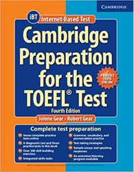 Dernières parutions sur TOEFL, Cambridge Preparation for the TOEFL Test - Book with Online Practice Tests and Audio CDs (8) Pack