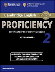 Dernières parutions sur CPE, Cambridge English Proficiency 2 - Student's Book with Answers Authentic Examination Papers from Cambridge English Language Assessment