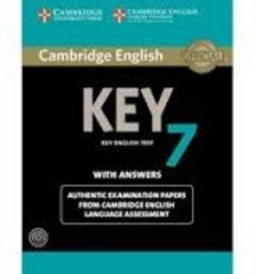Dernières parutions sur Cambridge English Key and Key for Schools, Cambridge English Key 7 - Student's Book Pack (Student's Book with Answers and Audio CD) Authentic Examination Papers from Cambridge English Language Assessment