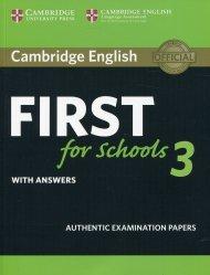 Dernières parutions sur FCE, Cambridge English For Schools 3 With Answers