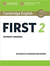 Dernières parutions sur FCE, Cambridge English First 2 - Student's Book without answers Authentic Examination Papers