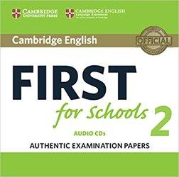 Dernières parutions dans Cambridge English First for Schools 2, Cambridge English First for Schools 2 - Audio CDs (2) Authentic Examination Papers