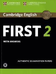 Dernières parutions sur FCE, Cambridge English First 2 - Student's Book with Answers and Audio Authentic Examination Papers