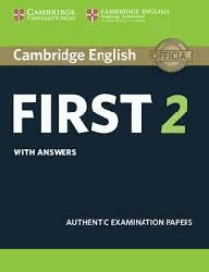 Dernières parutions sur FCE, Cambridge English First 2 - Student's Book with answers Authentic Examination Papers