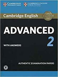 Dernières parutions sur CAE, Cambridge English Advanced 2 - Student's Book with answers and Audio Authentic Examination Papers