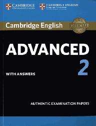 Dernières parutions sur CAE, Cambridge English Advanced 2 - Student's Book with answers Authentic Examination Papers