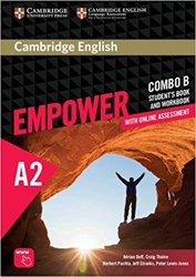 Dernières parutions dans Cambridge English Empower Combos, Cambridge English Empower, Elementary - Combo B with Online Assessment