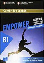 Dernières parutions dans Cambridge English Empower Combos, Cambridge English Empower, Pre-intermediate - Combo B with Online Assessment