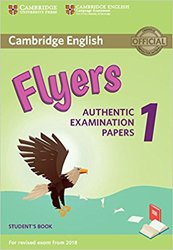 Dernières parutions sur Cambridge English Young Learners, Cambridge English Flyers 1 for Revised Exam from 2018 - Student's Book Authentic Examination Papers