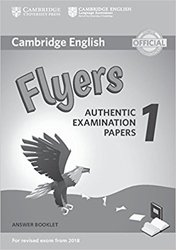Dernières parutions sur Cambridge English Young Learners, Cambridge English Flyers 1 for Revised Exam from 2018 - Answer Booklet Authentic Examination Papers