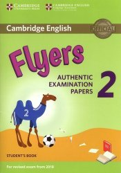Dernières parutions dans Cambridge English Young Learners 2 for Revised Exam from 2018, Cambridge English Young Learners 2 for Revised Exam from 2018 Flyers - Student's Book