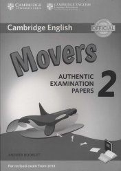 Dernières parutions dans Cambridge English Young Learners 2 for Revised Exam from 2018, Cambridge English Young Learners 2 for Revised Exam from 2018 Movers - Answer Booklet