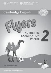 Dernières parutions dans Cambridge English Young Learners 2 for Revised Exam from 2018, Cambridge English Young Learners 2 for Revised Exam from 2018 Flyers - Answer Booklet