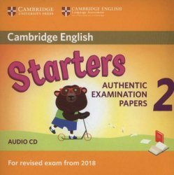 Dernières parutions dans Cambridge English Young Learners 2 for Revised Exam from 2018, Cambridge English Young Learners 2 for Revised Exam from 2018 Starters - Audio CD