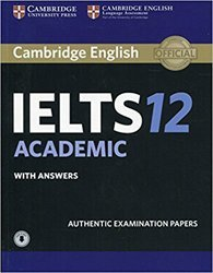 Dernières parutions sur IELTS, Cambridge IELTS 12 Academic