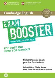 Dernières parutions dans Cambridge English Exam Boosters, Cambridge English Exam Booster for First and First for Schools without Answer Key with Audio