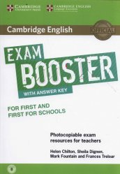 Dernières parutions dans Cambridge English Exam Boosters, Cambridge English Exam Booster for First and First for Schools with Answer Key with Audio