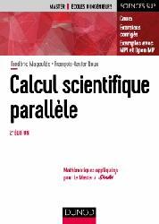 Dernières parutions sur Mathématiques appliquées, Calcul scientifique parallèle