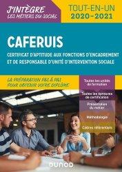 Dernières parutions sur Organisation et gestion du secteur social, CAFERUIS 2020-2021 - Tout-en-un