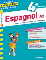 Dernières parutions sur Langues et littératures étrangères, Cahier du jour/Cahier du soir Espagnol LV2 4e + mémento