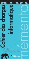Dernières parutions dans EYROLLES, Cahier des charges informatique