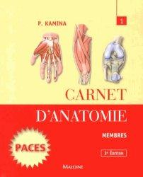 Souvent acheté avec Carnet d'anatomie 2, le Carnet d'anatomie 1