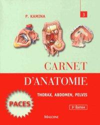 Souvent acheté avec Carnet d'anatomie 2, le Carnet d'anatomie 3