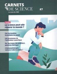 Dernières parutions sur Philosophie,histoire des sciences, Carnets de science. La revue du CNRS N° 7