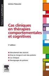 Souvent acheté avec L'études de cas en psychologie clinique, le Cas cliniques en thérapies comportementales et cognitives