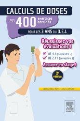 Souvent acheté avec Précis de nutrition, le Calculs de doses en 400 exercices corrigés pour les 3 ans du D.E.I.
