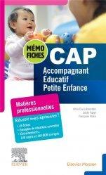 Dernières parutions dans Mémo-Fiches, CAP Accompagnant éducatif petite enfance