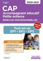 Souvent acheté avec CAP Accompagnant éducatif Petite enfance 2020-2021, le CAP Accompagnant éducatif petite enfance 2020-2021
