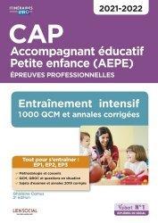 Dernières parutions sur CAP- BEP Petite enfance, CAP Accompagnement éducatif Petite enfance AEPE