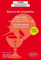 Dernières parutions sur CAPES, Capes espagnol, épreuve de composition
