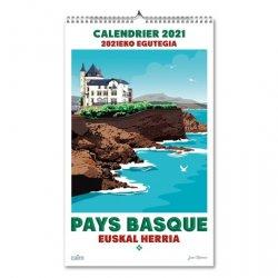 Dernières parutions sur Récits de voyages-explorateurs, Calendrier Pays Basque. Edition 2021