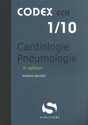 Dernières parutions sur ECN iECN DFASM DCEM, Cardiologie pneumologie