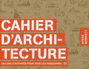 Nouvelle édition Cahier d'architecture