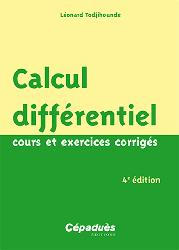 Dernières parutions sur Calcul différentiel, Calcul différentiel