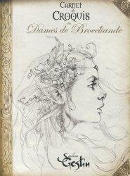 Dernières parutions sur Illustration, Carnet de croquis des Dames de Brocéliande