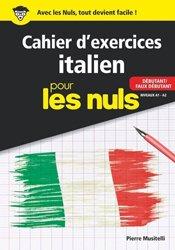 Dernières parutions sur Auto apprentissage (parascolaire), Cahier d'exercices Italien pour les nuls