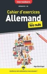 Dernières parutions sur Auto apprentissage (parascolaire), Cahier d'exercices allemand pour les nuls