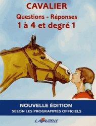 Souvent acheté avec Tête - Encolure - Épaule, le Cavalier - Questions - Réponses  galops 1 à 4 et degré 1