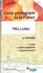Dernières parutions dans Carte géologique de la France à 1/50 000, Palluau
