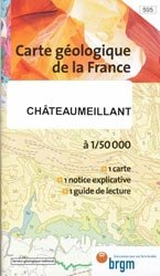 Dernières parutions dans Carte géologique de la France à 1/50 000, Châteaumeillant